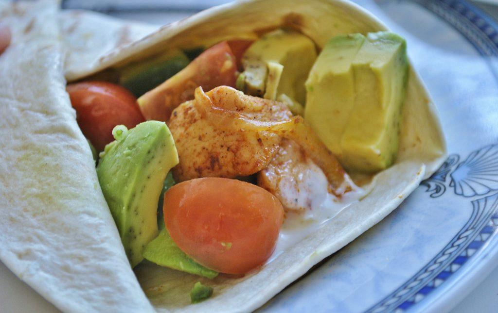 Avocado Hendl Wrap